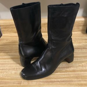 Cole Haan Italian Leather Mid Calf Boots
